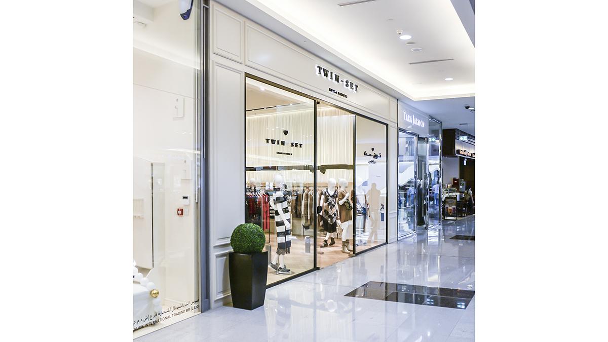 Twin Set – Dubai (Dubai Mall) – BP Architects e25e915c436